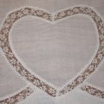 lace shpaged heart