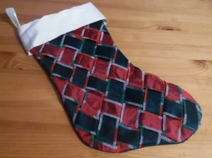 Silk woven stocking