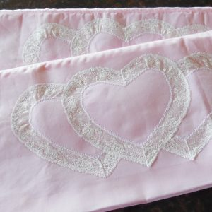 pink pillowcases